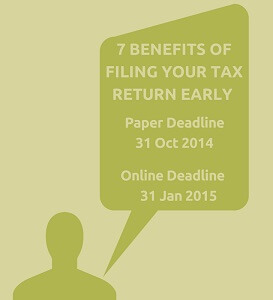 Lewis Smith & Co. - 7 Benefits of early tax return filing small
