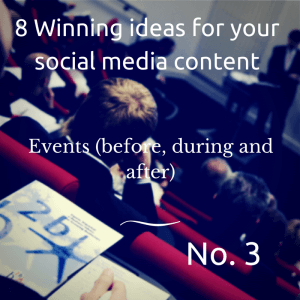8 Winning ideas for your social media