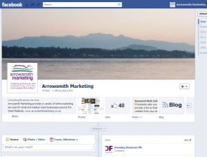 Arrowsmith Marketing Facebook Page