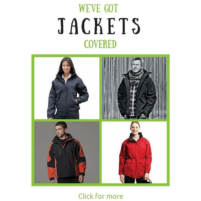 acorn printing customised jackets