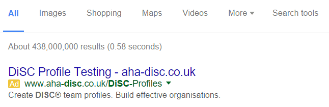 disc Google Search