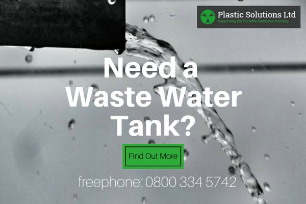 Plastic Solution offer two sizes of plastic waste water tanks