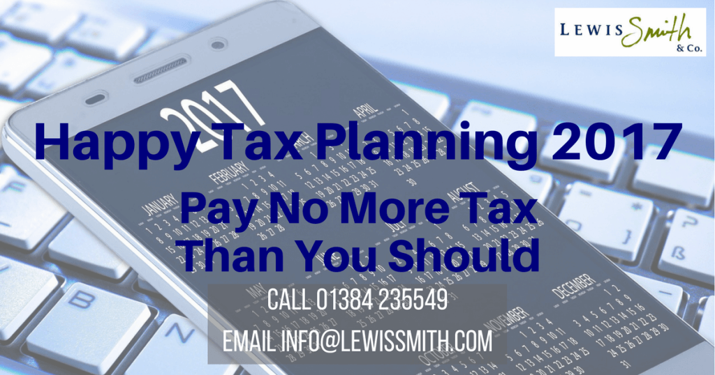 Tax Planning in Dudley, Stourbridge, Halesowen and West Bromwich